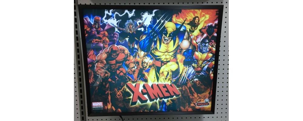 X-Men - Pinball Marquee Print - Lightbox - Stern