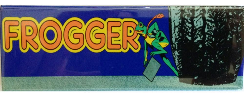 Frogger - Marquee - Magnet - Sega / Gremlin