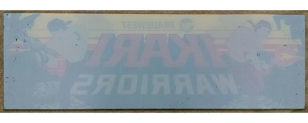 Ikari Warriors - Original Arcade Marquee - Tradewest