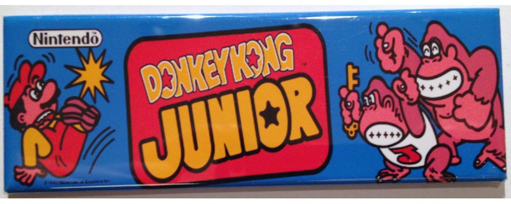 Donkey Kong Junior - Marquee - Magnet - Nintendo