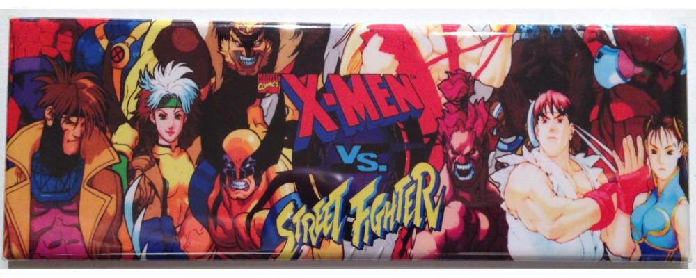 X-Men Vs. Street Fighter - Marquee - Magnet - Capcom