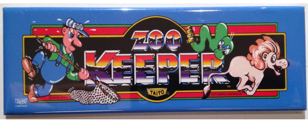 Zookeeper - Marquee - Magnet - Taito