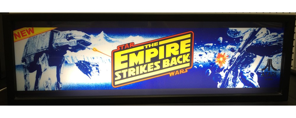 Star Wars The Empire Strikes Back Arcade Marquee - Lightbox - Atari