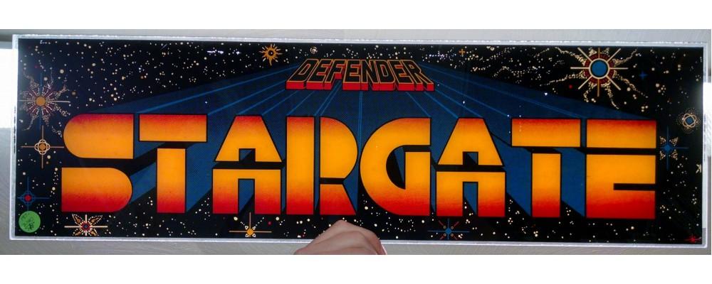 Stargate - Original Arcade Marquee - Williams