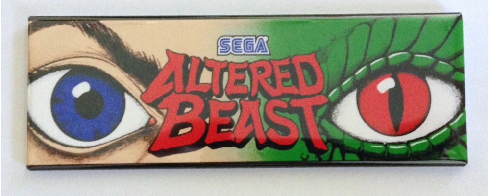 Altered Beast - Marquee - Magnet - Sega