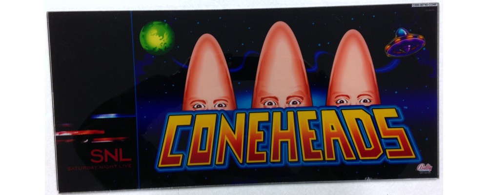 Cone Heads Slot Glass  - Slot Machine Accessories - Display Glass - Bally Gaming