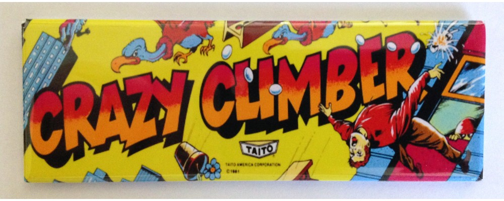 Crazy Climber - Marquee - Magnet - Taito