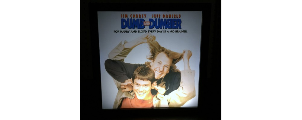 Dumb and Dumber - Album Cover Print - Lightbox