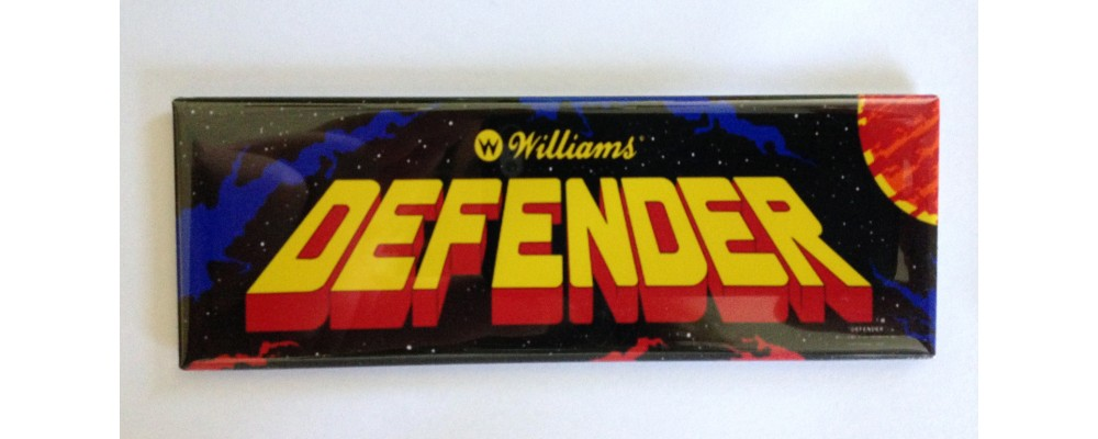 Defender - Marquee - Magnet - Williams