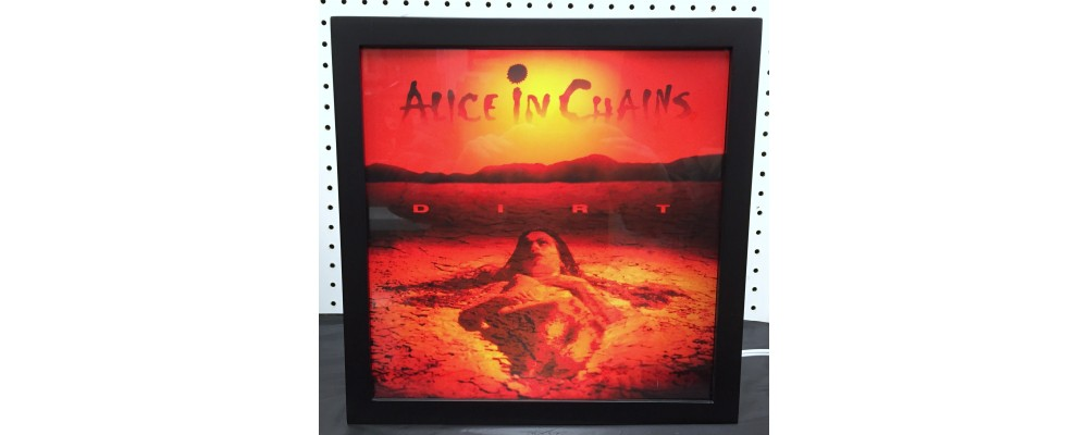 Alice In Chains Dirt - Album Cover Print - Lightbox