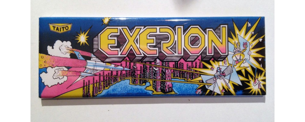 Exerion - Marquee - Magnet - Taito