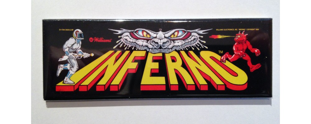 Inferno - Marquee - Magnet - Williams