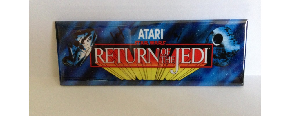 Return Of The Jedi- Marquee - Magnet - Atari