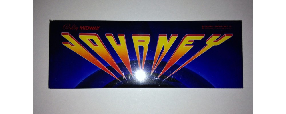 Journey - Marquee - Magnet - Bally/Midway