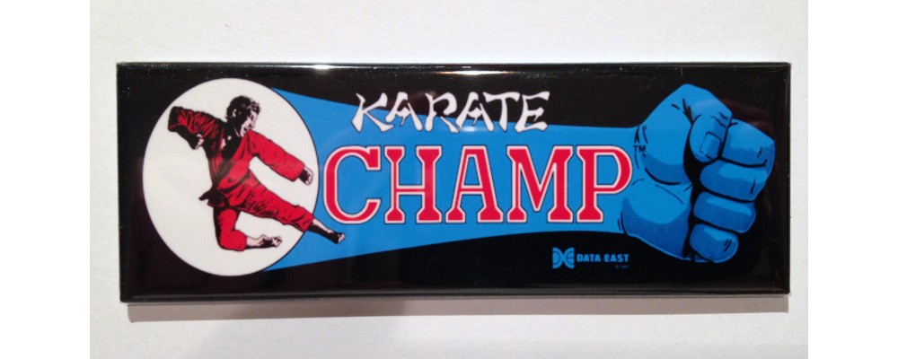 Karate Champ - Marquee - Magnet - Data East