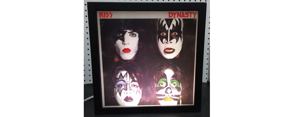 Kiss Dynasty - Album Cover Print - Lightbox