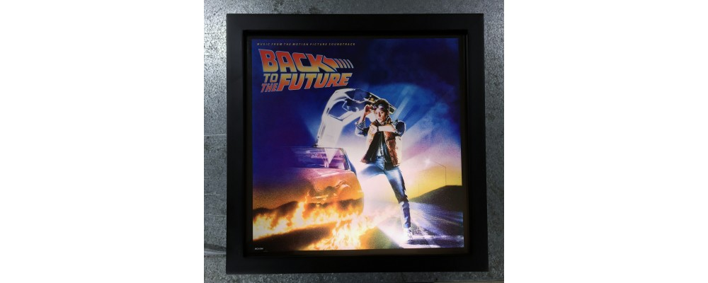 Back To The Future - Album Cover Print - Lightbox