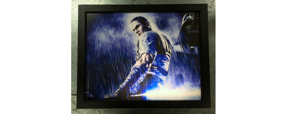 The Force Unleashed - Video Game Print - Lightbox