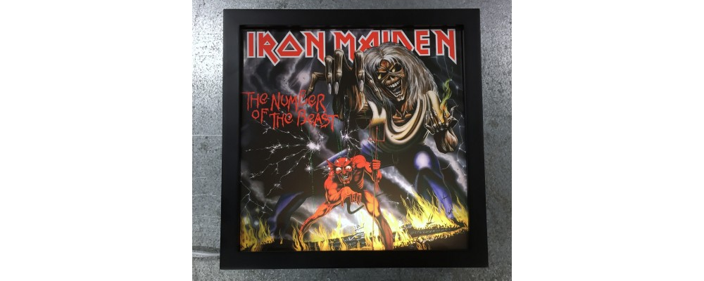 Iron Maiden - Album Cover Print - Lightbox