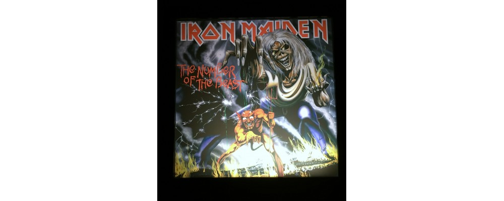 Iron Maiden - Album Cover Print - Lightbox