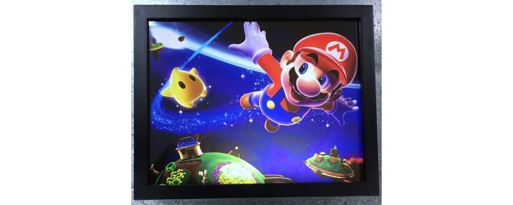 Mario - Video Game Print - Lightbox - Nintendo