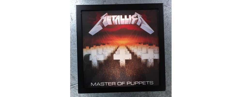 Metallica Master Of Puppets - Album Cover Print - Lightbox