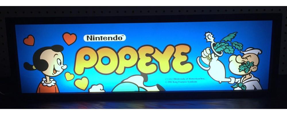 Popeye Arcade Marquee - Lightbox - Nintendo