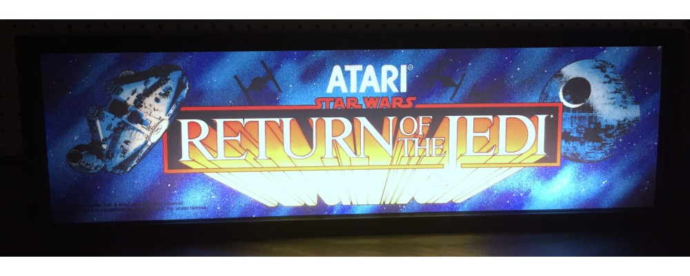 Return of the Jedi Arcade Marquee - Lightbox - Atari