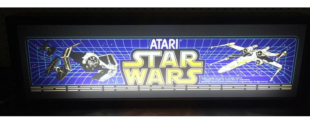 Star Wars Arcade Marquee - Lightbox - Atari