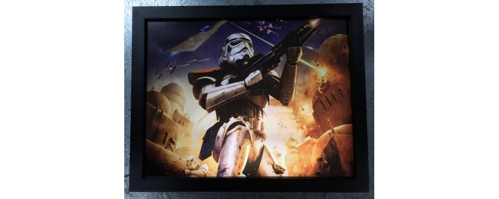 Stormtrooper - Video Game Print - Lightbox