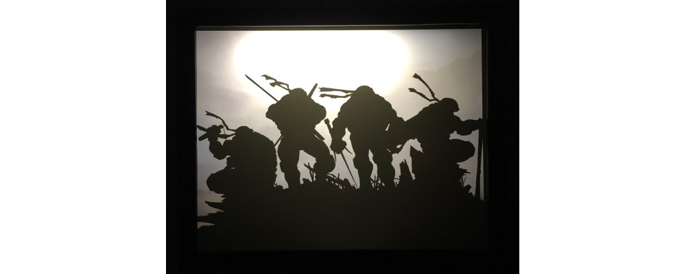 Teenage Mutant Ninja Turtles - Video Game Print - Lightbox