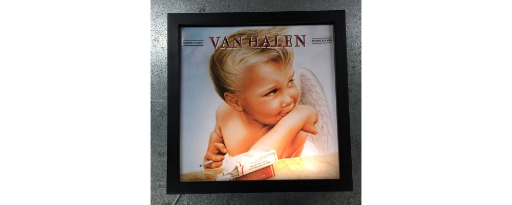 Van Halen - Album Cover Print - Lightbox