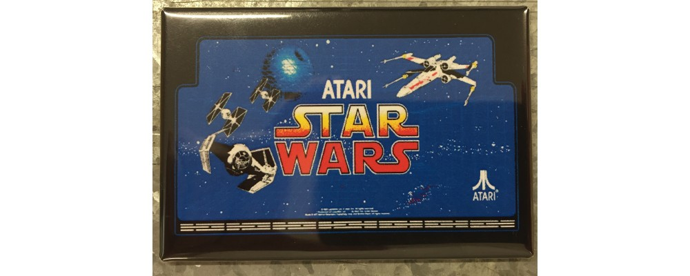 Star Wars - Marquee - Magnet - Atari