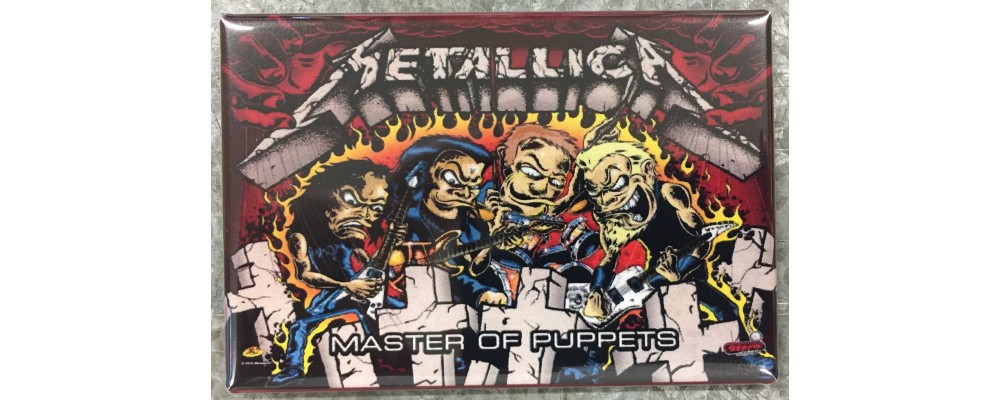 Metallica- Master of Puppets - Pinball - Magnet - Stern