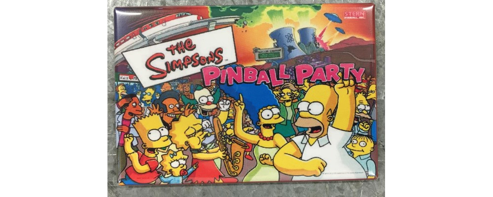 Simpsons Pinball Party - Pinball - Magnet - Stern