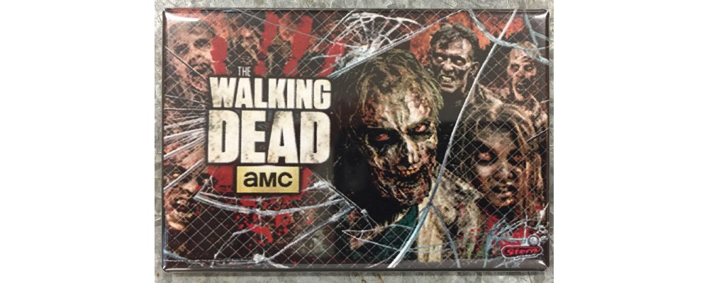 The Walking Dead - Pinball - Magnet - Stern