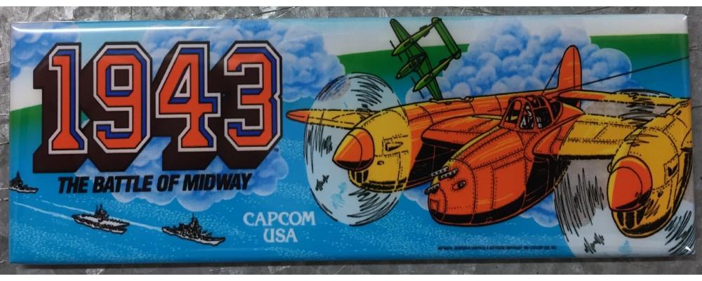 1943 - Marquee - Magnet - Capcom