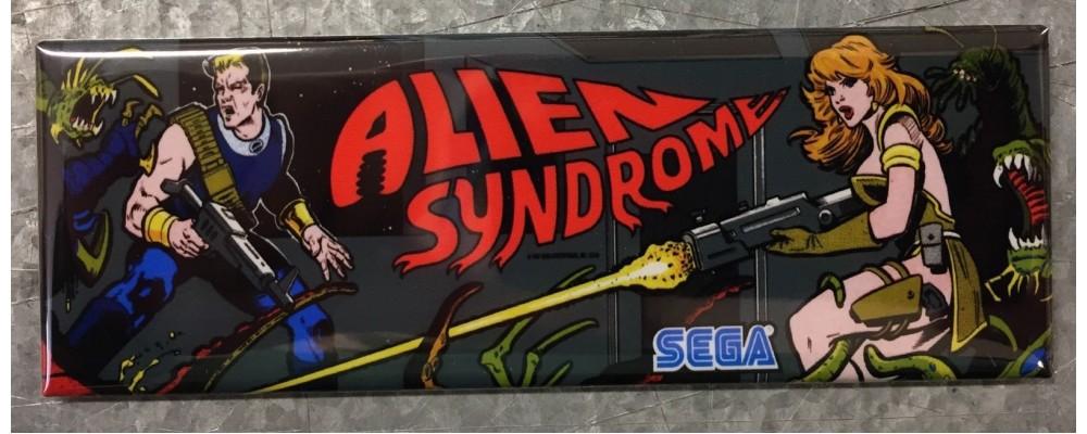 Alien Syndrome - Arcade/Pinball - Magnet - Sega