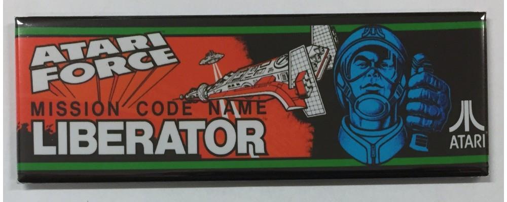Atari Force Mission Code Name Liberator - Marquee - Magnet - Atari