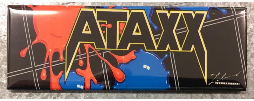 Ataxx - Arcade Game Marquee - Magnet - Leland