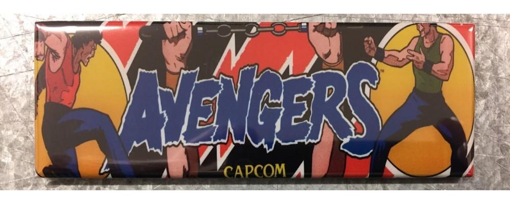 Avengers - Arcade/Pinball - Magnet - Capcom