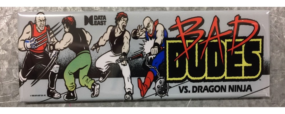 Bad Dudes - Arcade/Pinball - Magnet - Data East