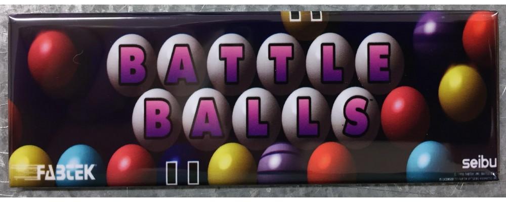 Battle Balls - Marquee - Magnet - Seibu