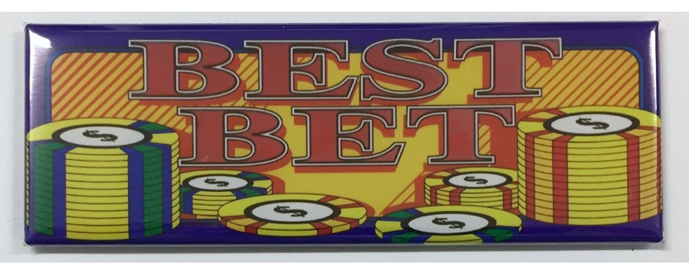 Best Bet - Slot Machine - Magnet