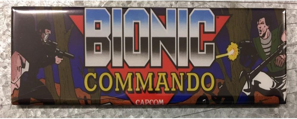 Bionic Commando - Arcade/Pinball - Magnet -Capcom