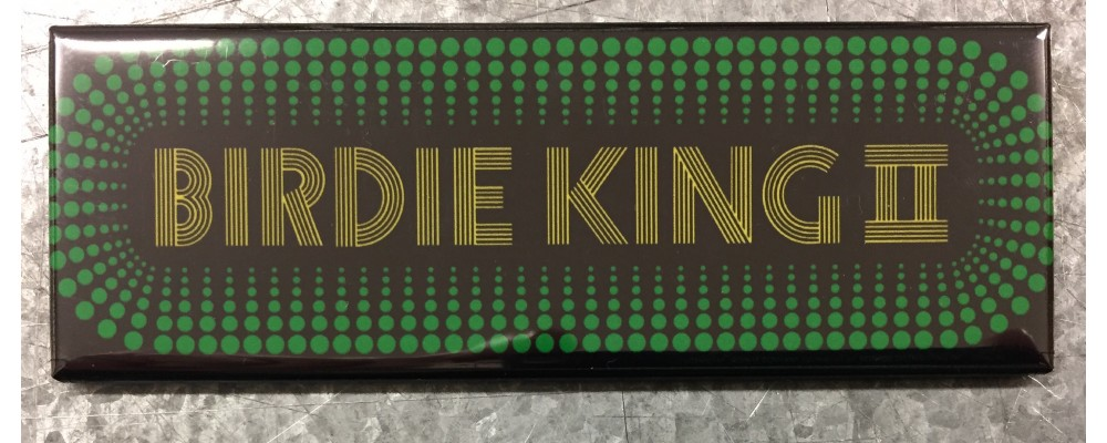 Birdie King II - Arcade Game Marquee - Magnet - Taito