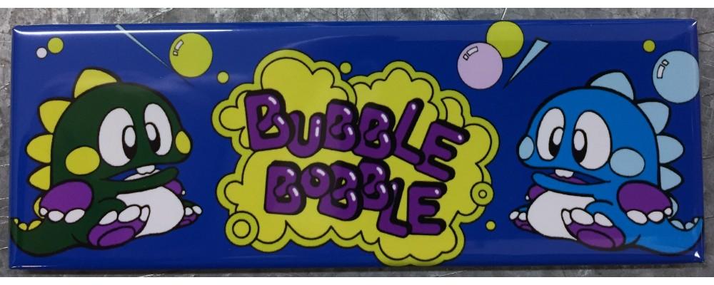 Bubble Bobble - Marquee - Magnet - Taito