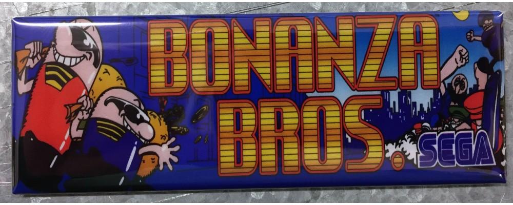 Bonanza Bros - Marquee - Magnet - Sega