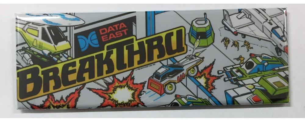 Break Thru - Marquee - Magnet - Data East