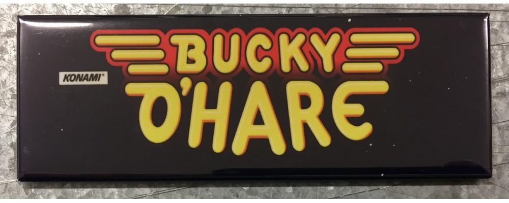 Bucky O'Hare - Arcade Game Marquee - Magnet - Konami